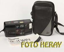 Olympus AF-1 Twin analoge Kompaktkamera. Japan, Tele ist defekt 40246