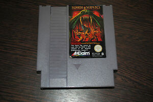 Jeu-Swords-And-Serpents-pour-Nintendo-NES
