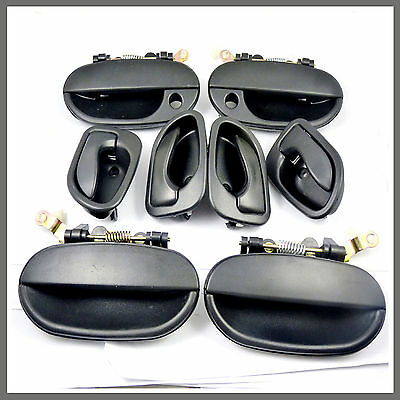 8266022000CA Black Front Exterior Outside Door Handle Right  for 1995-97 Accent