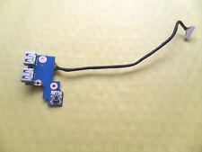 SAMSUNG NP300E5A POWER BUTTON & USB BOARD + CABLE (BA92-08350A