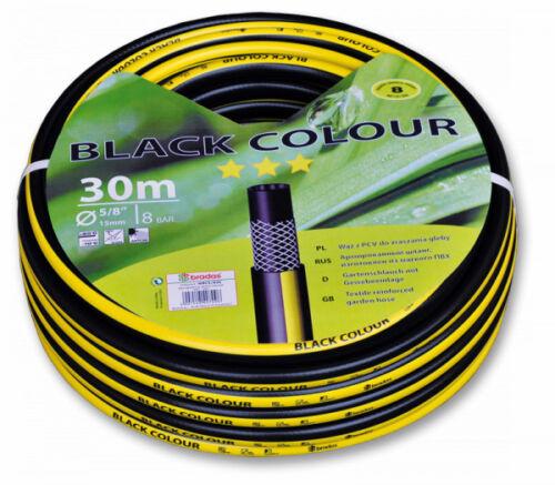 """Manguera de jardín 1//2/"""" 50 M negro manguera de calidad 3 capas de manguera de agua"""