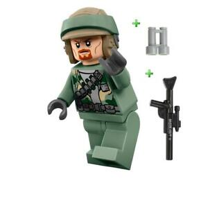 LEGO-STAR-WARS-ENDOR-REBEL-TROOPER-FIGURE-RARE-GIFT-75023-2013-NEW
