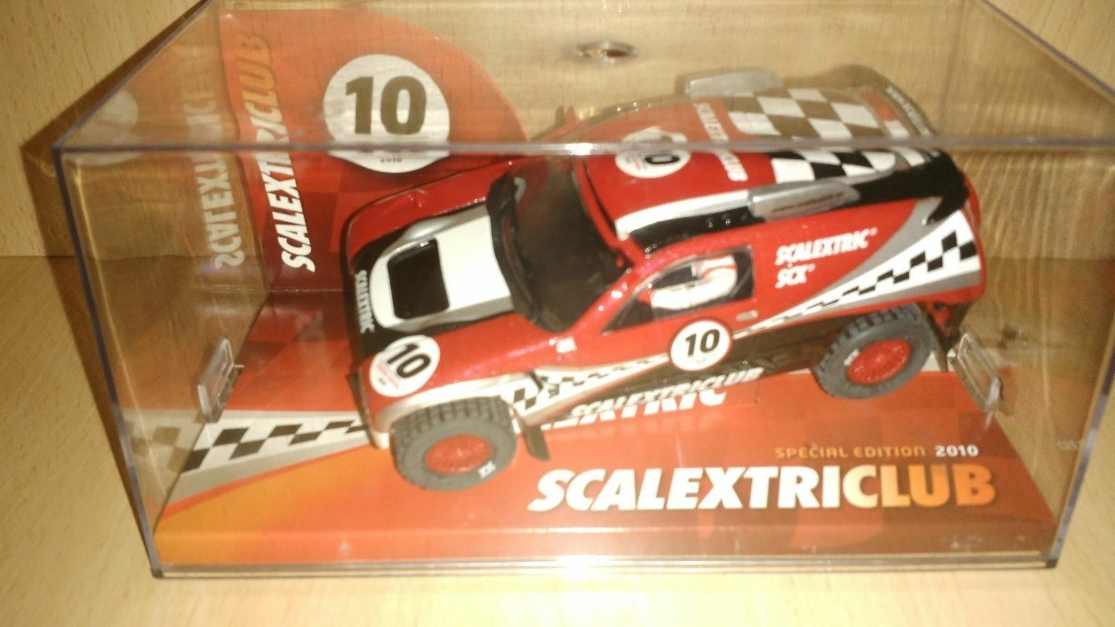 Scalextric Volswagen tuareg scalextric club 2010 limited edition