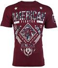 AMERICAN FIGHTER Mens T-Shirt LANDER Athletic BURG GREY CAMO Biker Gym UFC $40