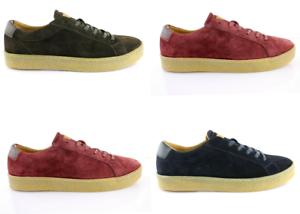 Tommy-Hilfiger-Logan-1B-suede-Schuhe-Shoes-Wildleder-Sneakers-Gr-42