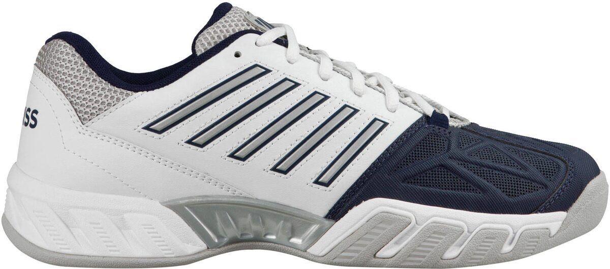 K-Swiss señores bigshot light zapatillas de tenis Cochepet (05445-109) en blancoo-azul  nuevo