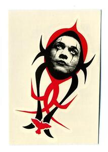 Kitchen-Sink-1997-The-Crow-City-of-Angels-Tattoos-Chase-Card-4-Face-of-the-Crow
