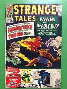 Strange-Tales-126-1st-Clea-1st-Dormammu-Stan-Lee-Ditko-Marvel-Comics-GD-VG