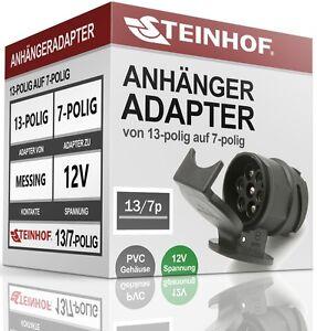 ANHANGERADAPTER-AHK-ADAPTER-13-polig-auf-7-polig-13-7-polig-NEU-12V-QUALITAT