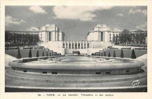 Paris-the-New-Trocadero-Seen-of-Gardens