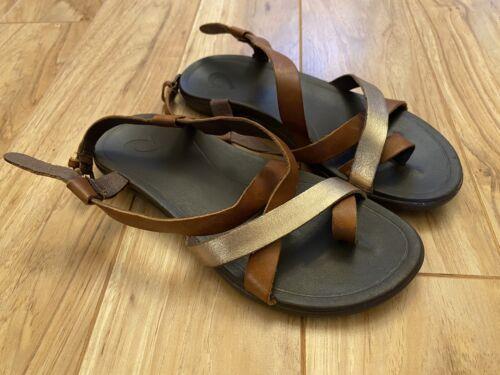 Olukai Upena Womens Strappy Sandals. Sz 6. VGUC - image 1