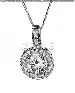 1-71-ct-FANCY-Off-White-Yellow-Real-Moissanite-925-Sterling-Silver-Pendant-F07
