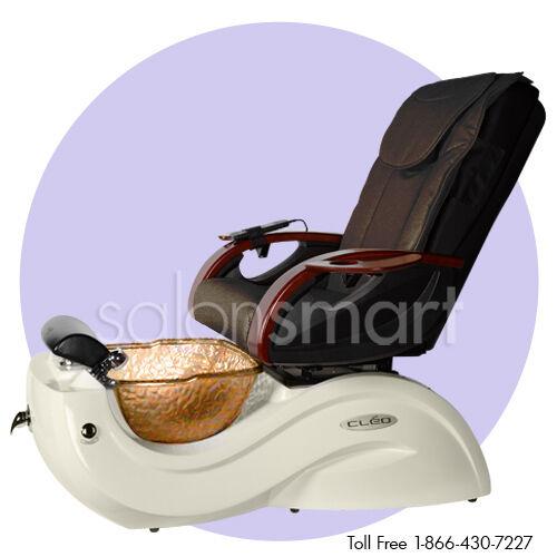 Beau Massage Pedicure Chair Cleo GAX Salon Equipment And Glass Bowl | EBay