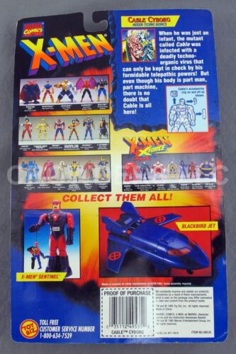 Câble Cyborg X-Men X-Force Marvel Comics Marvel univers trading card #49507 Neuf dans sa boîte