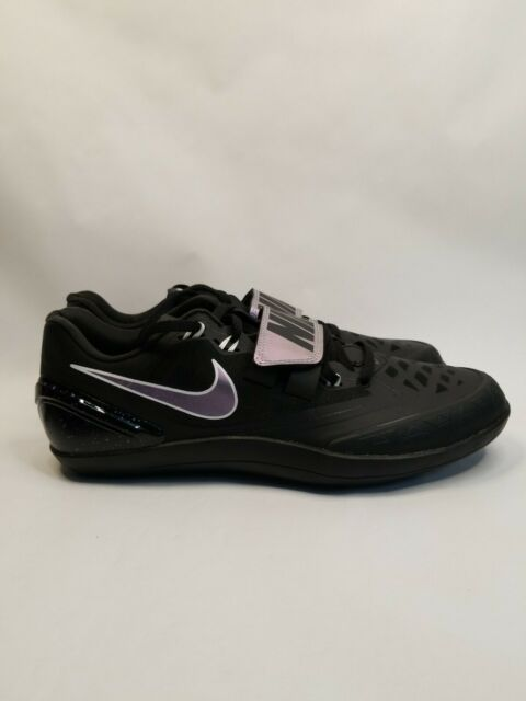 Nike Zoom Rotational 6 Mens Track Discus Throw Shoes Black 685131 003 size 10.5