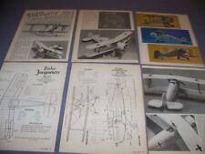 VINTAGE..BUCKER BU 133 & 133C ..1/72 MODEL REVIEW/3-VIEWS..RARE! (961)