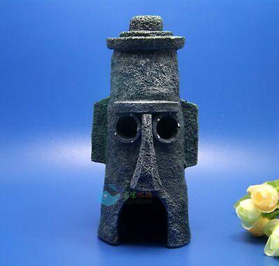 Penn-Plax Spongebob Squidwards Home