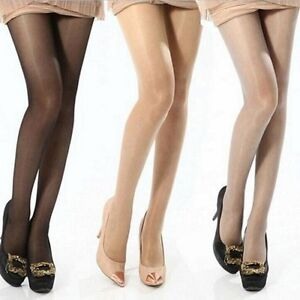 NEW-Women-Sheer-Transparent-Tights-Pantyhose-Stockings-Hosiery-One-Size-4-Colors