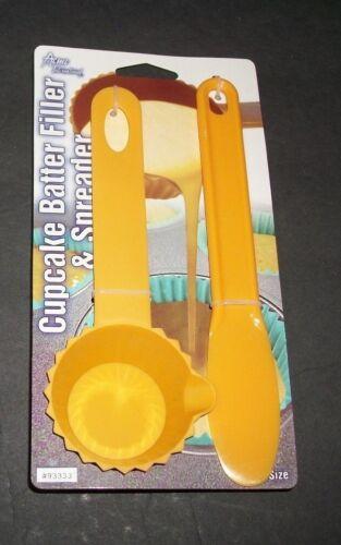 CUPCAKE BATTER FILLER /& SPREADER  Muffin Size     U CHOOSE Color NEw