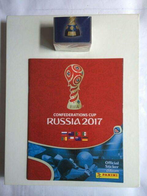 Confederation Cup Calendario.Russia Confederations Cup 2017 Panini Sticker Album Comp Unstuck Sticker Set