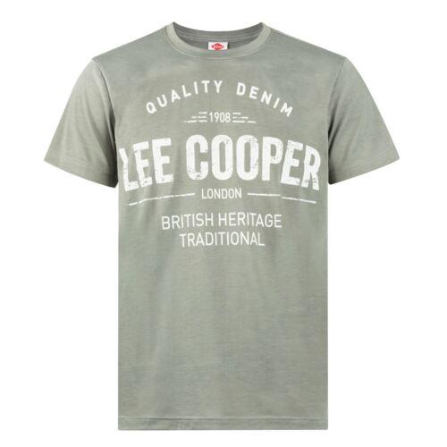 Neuf Du S au XXL T-Shirt Homme LEE COOPER