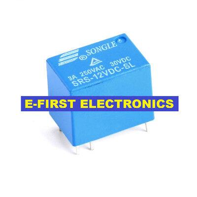 4100 12V DC Power Relay 6PIN 50PCS SRS-12VDC-SL JRC-21F