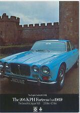 Jaguar XJ6 1968 MODERN postcard by Vintage Ad Gallery