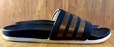 monitor doblado tener  Adidas Adilette Comfort Grey/ Copper F97200 (Women's) MULTI SIZES | eBay