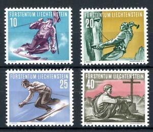 Liechtenstein-MiNr-334-37-postfrisch-MNH-Sport-O6049