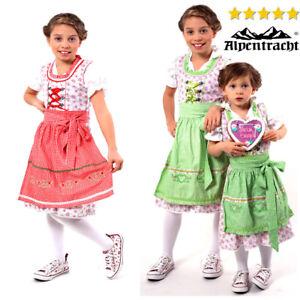 Authentic-German-Dirndl-Oktoberfest-Dress-German-Church-Dress-For-Kids-3pcs-NEW