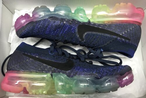 Nike Blue Air Deep 400 Royal Flyknit Donna 883274 Be True Bianco 5 Vapormax fBrnWaqRf