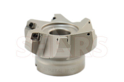 """Stop Throwing Away Used APKT 1003 2-1//2/"""" 75° Indexable Face Mill New $175.93 Off"""
