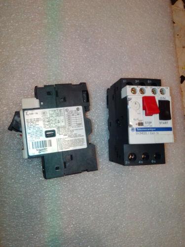 Telemecanique GV2ME05 0,63-1A SCHNEIDER INTERRUTTORE PROTEZIONE MOTORE breaker