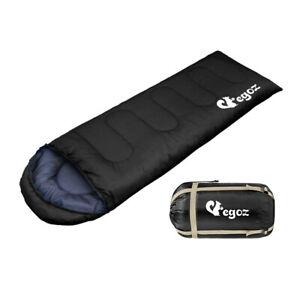 Egoz-Peanut-Sleeping-Bag-Easy-To-Carry-3-Seasons-Adult-Outdoors-Camping-Warm