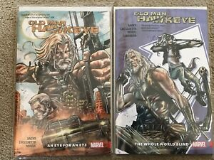 MARVEL-COMICS-OLD-MAN-HAWKEYE-VOL-1-amp-2-COLLECTS-ISSUES-1-12