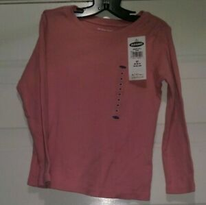 Old-Navy-NWT-Girls-Pink-Shirt-Top-Blouse-Size-3T