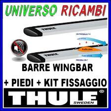BARRE PORTATUTTO THULE WINGBAR KIT COMPLETO PER CHRYSLER PT Cruiser 5-p SW 00