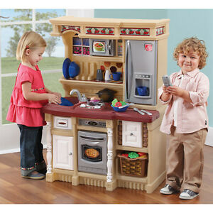 Image Is Loading Kids Play Kitchen Set Toddler Cooking Pretend Toy