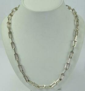 Halskette-Silberkette-MEXICO-925-Silber-massiv-TANE-silver-Necklace-chain-80-cm