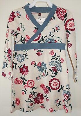 BNWT ~ Tea Collection Takara Luguna Wrap Neck Dress ~  Size 3-6M