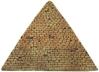 Fish Tank Aquarium Ancient Ruins Pyramid Egyptian Desert Theme Ornament Decor