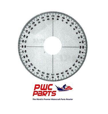 295000007 WSM Sea-Doo Timing Degree Wheel PWC 012-170  OEM # 529035607