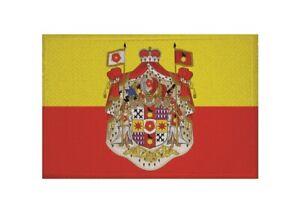 Details Zu Aufnäher Fürstentum Lippe Fahne Flagge Aufbügler Patch 9 X 6 Cm