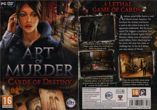 Art of Murder : Cards of destiny - Jeu PC DVD-ROM