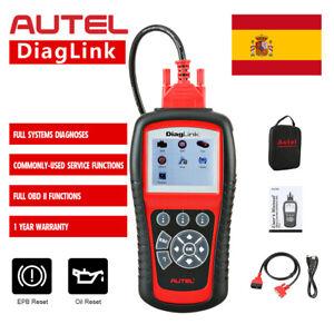 Autel DiagLink MaxiDiag Elite OBD2 Lector de código Diagnóstico del coche Escane