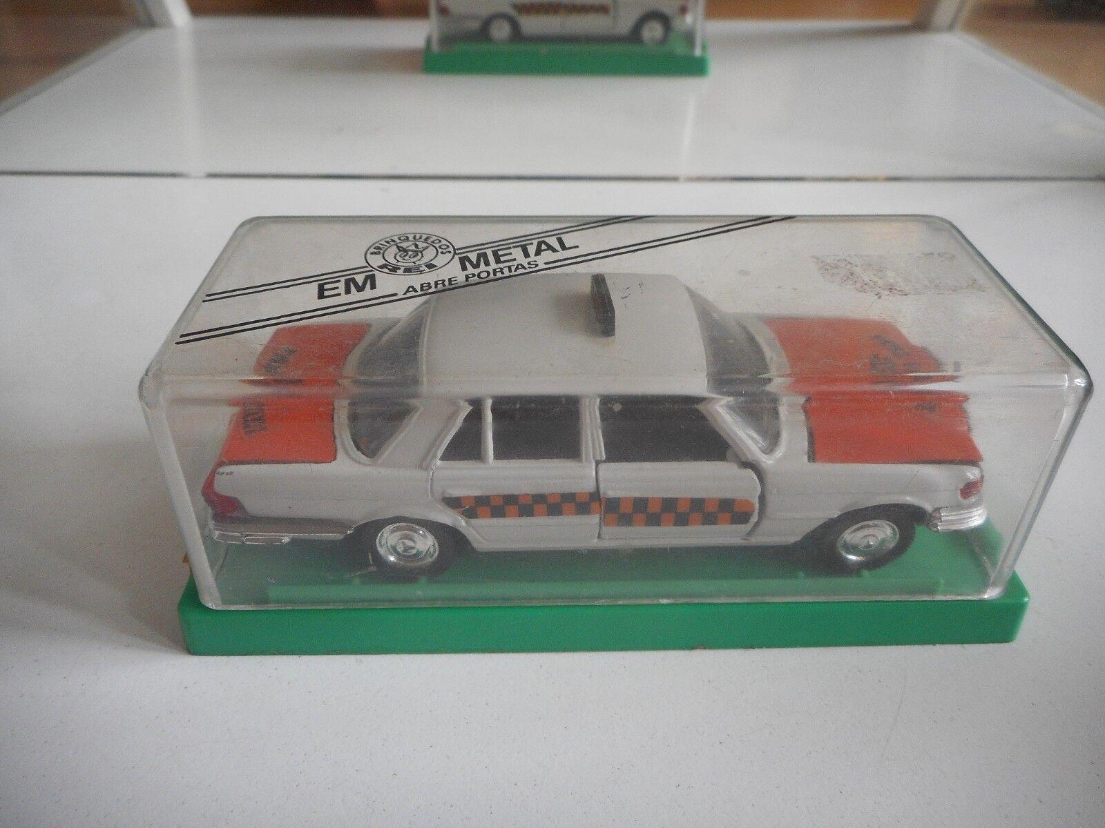 Rei Mercedes 350 SE Radio Taxi in arancia bianca on 1 43 in Box