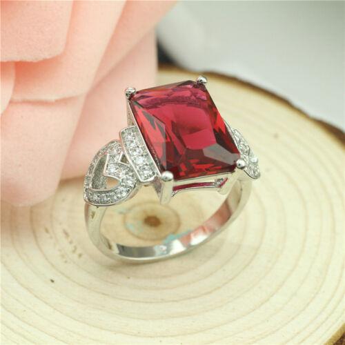 925 solide Argent sterling plaqué femmes//hommes New Fashion Ring Cadeau Nouveau HJ44