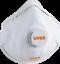 Indexbild 7 - Mundschutz 3M Uvex FFP 2 FFP2  6922 8810 3210 2210 2220 Atemschutzmaske  Ventil