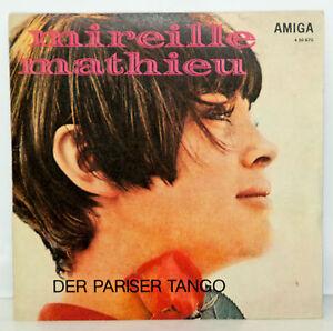 super-Vinyl-Single-Mireille-Mathieu-Der-Pariser-Tango-Wann-kommst-du-wieder