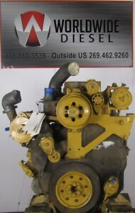 CAT-C10-Diesel-Engine-Take-Out-335HP-Turns-360-Good-for-Rebuild-Only